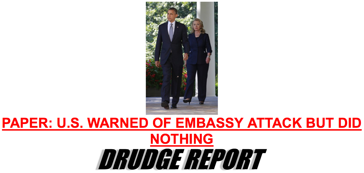 drudge us warned of embassy attack