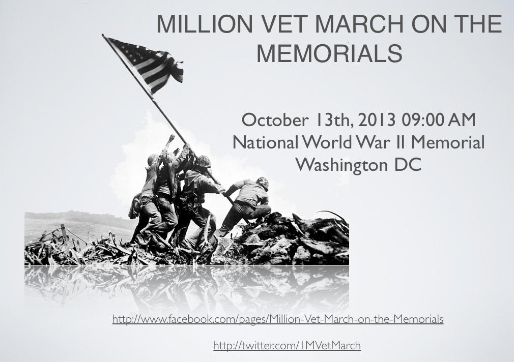 Million Vet March Oct 13