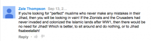 NYPD axe attacker post from YT UPRISE OF THE KHILAFAH WORLD WIDE
