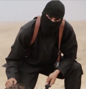 Jihadi John evil eyes