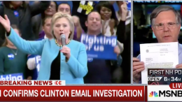FBI Confirms Investigation Into Clinton's Private Email Server