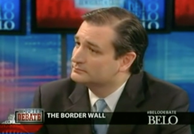 Sorry Donald Trump, Ted Cruz Was Talking About Building a Border Wall in 2011 - SavingtheRepublic.com: Video News & Opinion