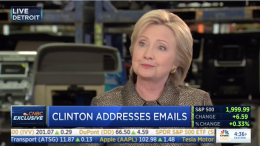 Clinton 'I've Been The Most Transparent Public Official in Modern Times'