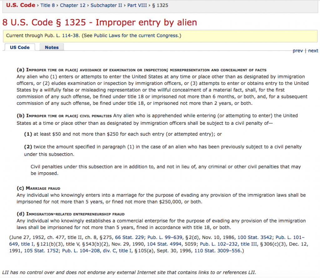 8-u-s-code-%c2%a7-1325-improper-entry-by-alien