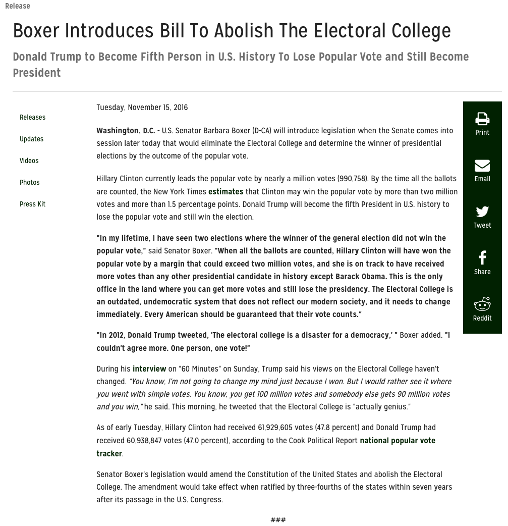 abolish electoral college essay Why we should abolish the electoral college by tyler lewis voting for president of the united states problems with the electoral college.
