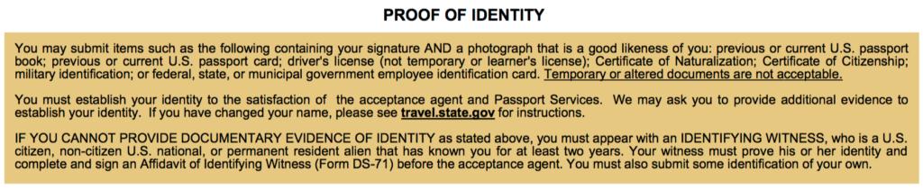 proof-of-identity